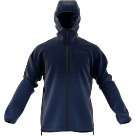 adidas TERREX Agravic Windweave Jacket Herren legend ink/shoblu